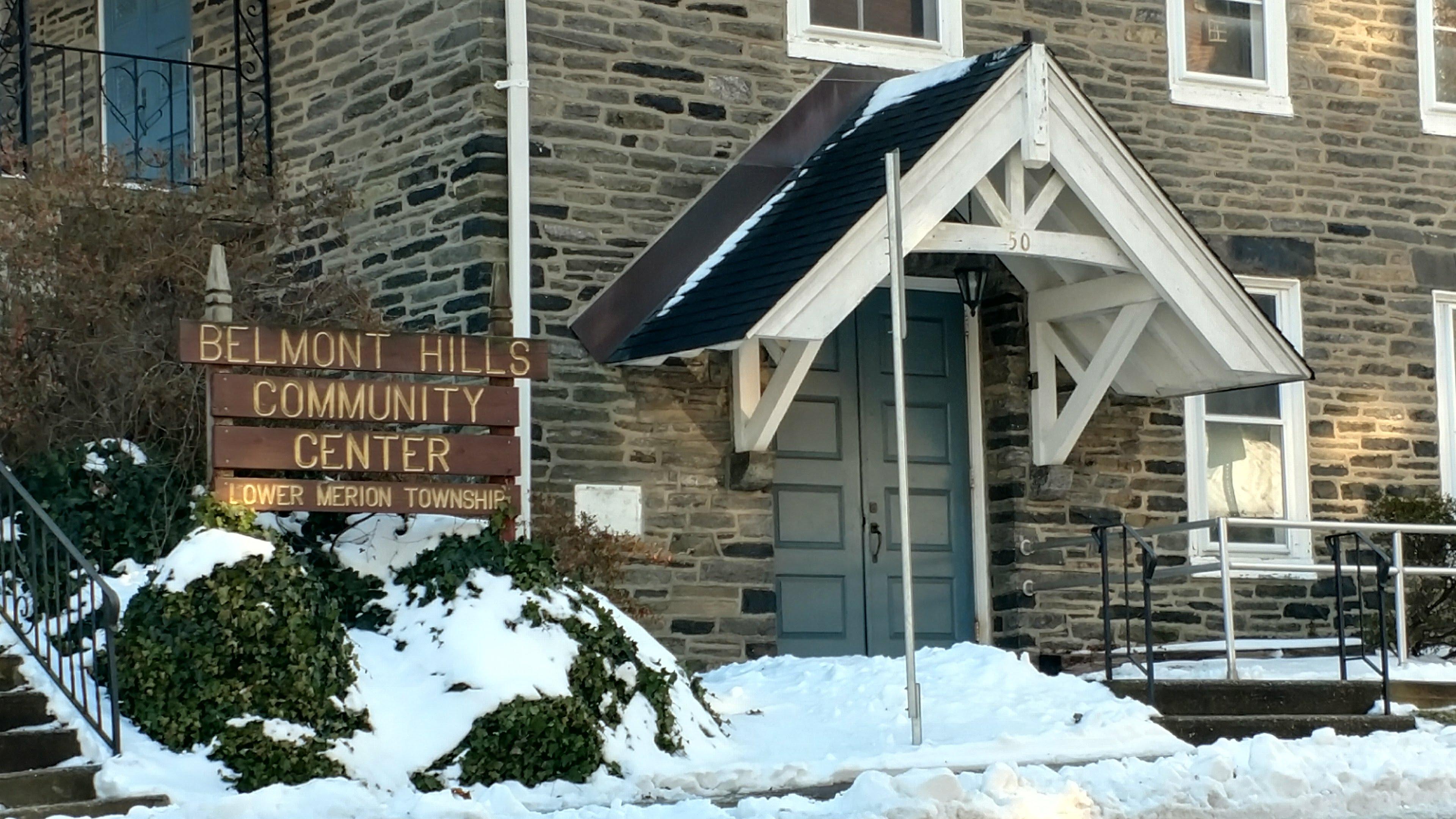 Belmont Hills Community Center Hall Rentals In Bala Cynwyd Pa