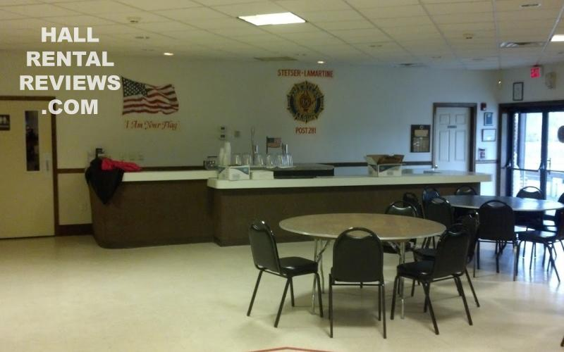 American Legion Post 281 Stetser Lamartine Hall Rentals